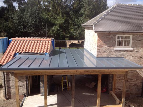 Zinc Effect Flat Roof Future Roof