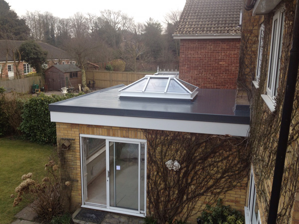 Sunroom Extension With Rooflight Future Roof